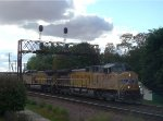 UP 5769 leads our third set of eastbound coal loads on the day