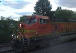 BNSF 5263 on an EB intermodal is our last train before heading for home