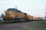 UP 6733 is the DPU on eastbound CWEX coal loads