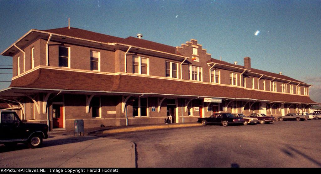 Former Amtrak station