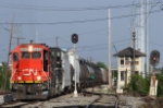CN yard job relieves dead NOPB train at East Bridge Junction