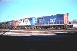 GT 4439 with DT&I Bicentennial 1776