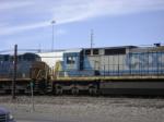 CSX ES44DC and C40-8