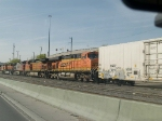 BNSF 7748 #6 power in an EB manifest at 4:12pm