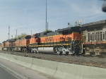 BNSF 1089 #3 power in an EB manifest at 4:12pm