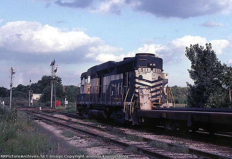 Gulf, Mobile & Ohio EMD GP-30 511