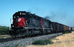 Southern Pacific EMD SD-40M-2 8601 is up front a mixed freight