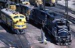 Union Pacific EMD E-9A 951