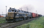 Belt Railway of Chicago Century 424 600 and sister are moving transfer freight to Clearing yard
