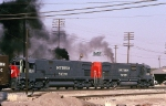 A pair of Southern Pacific ALCo Century 630's pour it on