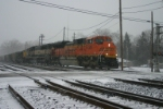 BNSF 9369 heads up the PM Train #1