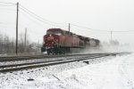 CP 8611 on westbound intermodal Train #3