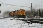 BNSF 8825 on 416 Train #4