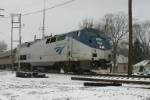 AMTK 126 heads for Michigan Train #7