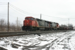 CN 2450 wide body Train #9