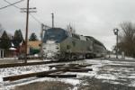 AMTK 33 on Blue Water Train #11