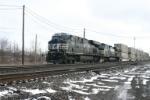 NS 7679 leads domestic IMC Train #13