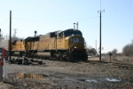 UP 4257 heads to Detroit with train 30