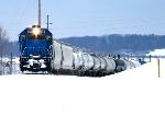Marquette Rail 2676 at Ludington, MI