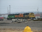 3 BNSF Switchers