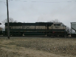 BNSF 9708 - Broadside