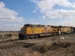 UP 5842 Leads EB Coal Loads
