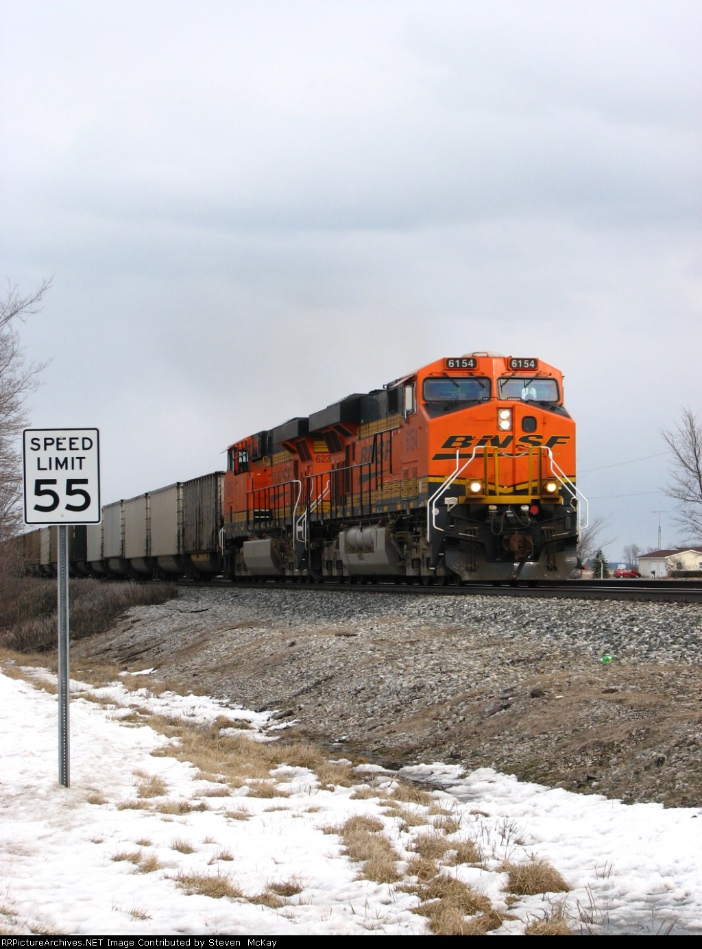 BNSF 6154
