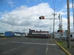 PNWR 1201 crossing Queen Avenue