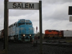 DLMX 644 passes Salem Switcher