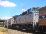 AMTK 114 and AMTK 507 passing MP 691