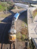 UP 4310 on an Amtrak Cascades train