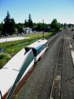 AMTK 90250 leads train 504
