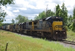 CSX Q621-28 with Road Slug