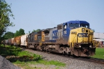 CSX Q621-30 travels north, just a few miles away from entering the Massena Yard Limits.