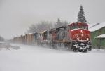 Q620-12 under fresh snow