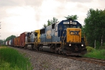 CSX Q620-23 approaches block BROUSE leaving Massena Yard limits