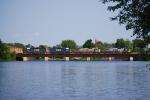 CSXT Q620-27 crosses the Raquette River