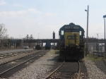 Leased GP-38's in the NYS&W yard