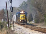 CSX 8710 arrives into Grovetown!