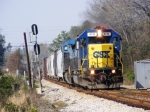 Best shot of CSX 8710 passing through Grovetown