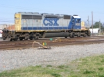 CSX 8022 sits in the Yard