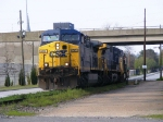 CSX 430 with Downtown behind it