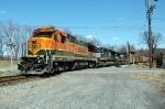 CP 412 BNSF 8603 Sunbury