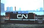 CN 8216 is an MLW 1957 built S7