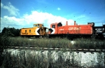 Canadian Pacific SW1200 #8168 in 1983