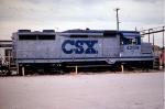 CSX 4209, X CO