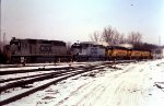 CSX 8383 and several others