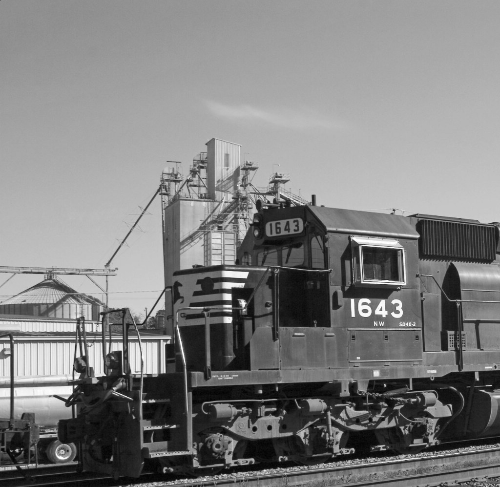 NS 1643 resting