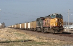 UP 7260 leads a EB EDGX drag past 60th rd @ 09:19
