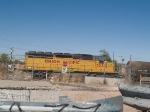 UP 3233 #3 power in a WB manifest out of Alfalfa yard at 4:00pm